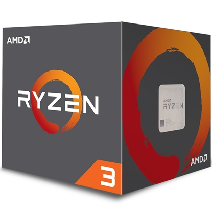 Изображение AMD Ryzen 3 1200, 3.4 GHz, AM4, Processor threads 4, Packing Retail, Cooler included, Processor cores 4, Component for PC