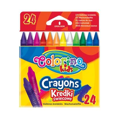 Изображение COLORINO Vaska krītiņi   24 krāsas