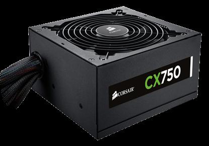 Изображение Corsair Power Supply CX750, 750W, 80 PLUS Bronze, 135mm