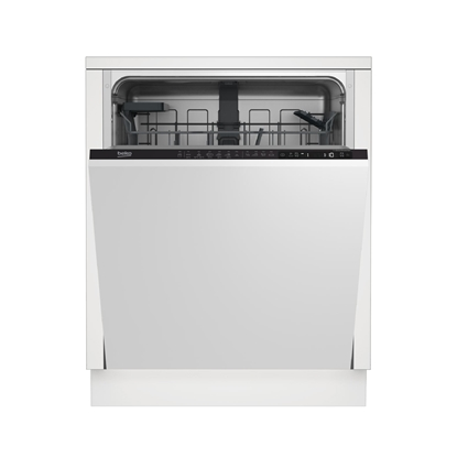 Изображение BEKO Dishwasher DIN26421 A++, 60 cm, Traywash, 6 programs, Inverter motor, Led Spot