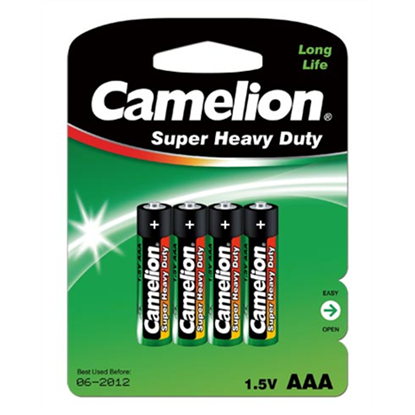 Изображение Camelion AAA/LR03, Super Heavy Duty, 4 pc(s)