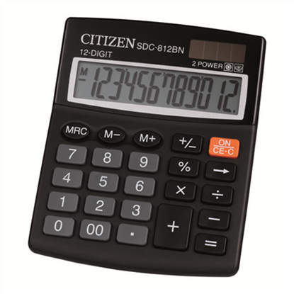 Attēls no Citizen Calculator SDC 812BN