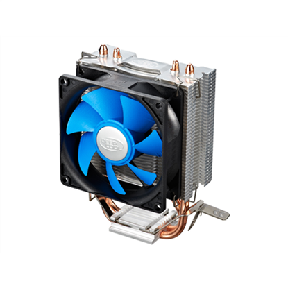 "Attēls no Deepcool  ""Ice Edge Mini FS"" universal cooler, 2 heatpipes, Intel Socket LGA1156 /1155/ 775 and AMD Socket FM1/AM3+/AM3/AM2+/AM2/940/939/754 deepcool ""Iceedge mini FS""  Universal"