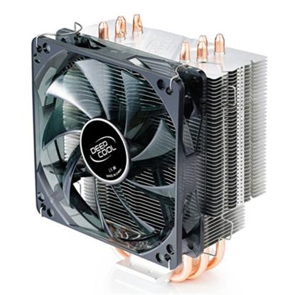 "Изображение Deepcool ""Gammaxx 400"" universal cooler, 4 heatpipes, Intel Socket LGA 2011/1155/ 775, 130 W TDP and AMD Socket FM1/AM3+/AM3/AM2+/AM2/940/939/754, 125W TDP deepcool universal"