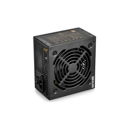 Attēls no deepcool DA600 series 80 PLUS BRONZE Efficiency up to 87% PSU, Black, 120mm, 150 x 140 x 86 mm mm, 600 W