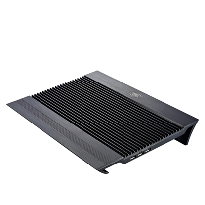 "Attēls no deepcool N8 black Notebook cooler up to 17"" 1244g g, 380X278X55mm mm"