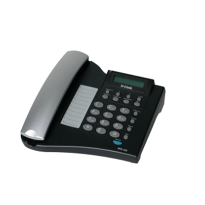 Attēls no D-LINK DPH-120S, VoIP Phone, Support Call Control Protocol SIP, P2P connections, 2- 10/100BASE-TX Fast Ethernet, Acoustic echo cancellation(G.167), QoS IEEE 802.1Q & IEEE 802.1p Compliant and DiffServ(DSCP), Full range VLAN ID Support, Class of Service Su
