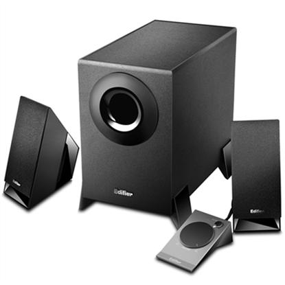 Attēls no Edifier M1360 Speaker type 2.1, 3.5mm, Black, 8.5 W