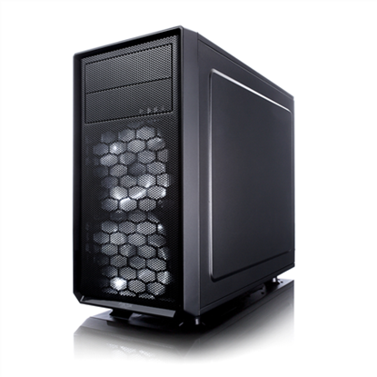 Изображение Fractal Design Focus G Mini Black Window Black, Micro ATX, Power supply included No