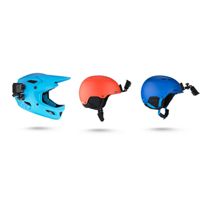 Attēls no Ķiveres stiprinājumi GoPro Helmet front + Side Mount