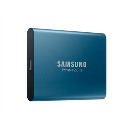 Attēls no Samsung T5 500 GB, USB 3.1, Blue, Portable SSD
