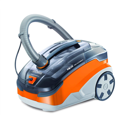 Изображение Thomas Vacuum cleaner 788563 PET and FAMILY AQUA + Washing, Grey/ orange, 1700 W, HEPA filtration system,