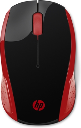 Picture of HP 200 mouse RF Wireless Optical 1000 DPI Ambidextrous