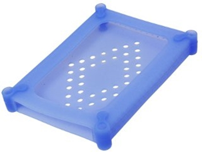 "Picture of LOGILINK UA0134, 3.5 "" HDD silicon protection case, blue"