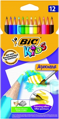 Изображение BIC Colored pencils AQUAQOULEUR Pouch 12 pcs 8575613
