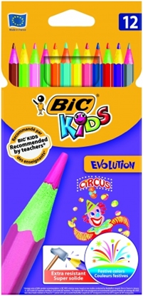 Изображение BIC Colored pencils EVOLUTION CIRCUS Pouch 12 pcs 8957893