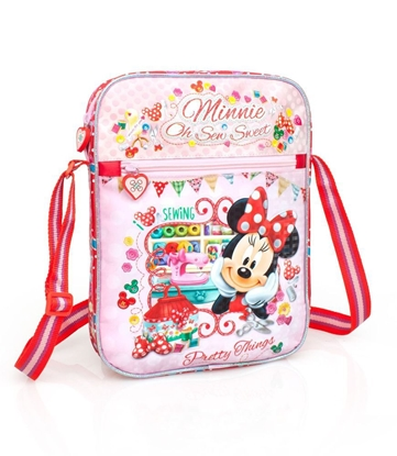 Изображение Disney Premium Plecu soma meitenēm Minnie Pretty Things 3D 33215 Pink