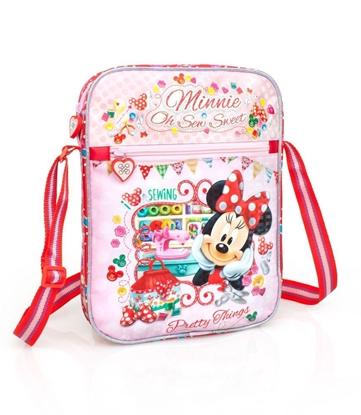 Изображение Disney Universal Premium Plecu soma meitenēm Minnie Pretty Things 3D 33215 Pink