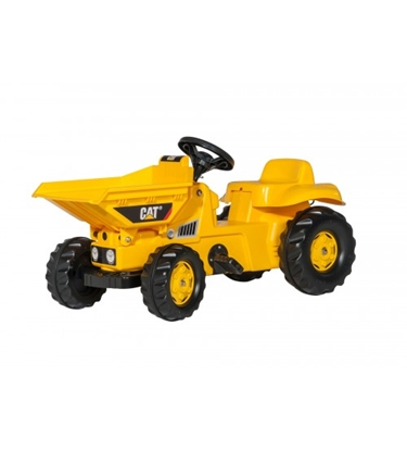 Picture of Bērnu pedāļu traktors rollyKid Dumper CAT (2,5-5 gadiem) 024179 Vācija