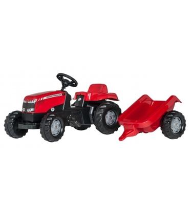 Picture of Bērnu traktors ar pedāļiem ar piekabi rollyKid MF (2,5-5 gadiem) 012305 Vācija