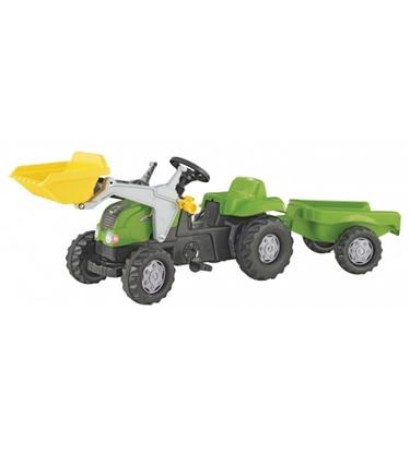 Attēls no Bērnu traktors ar pedāļiem rollyKid ar kausu un piekabi (2,5-5 gadiem) 023134 Vācija