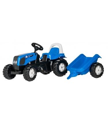 Picture of Bērnu traktors ar pedāļiem rollyKid Landini ar piekabi (2,5-5 gadiem) 011841 Vācija