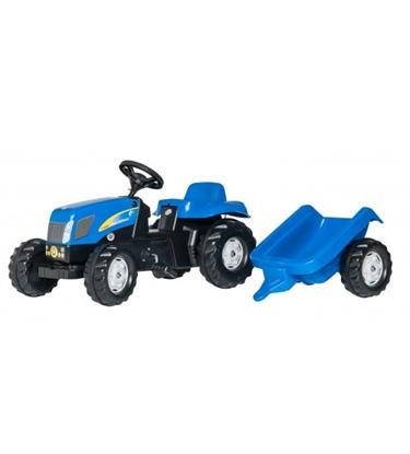 Attēls no Bērnu traktors ar pedāļiem rollyKid NH T7040 (2,5-5g.) 013074