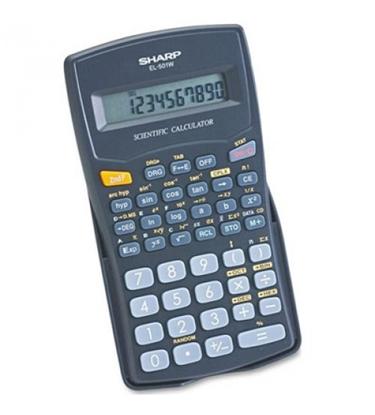 Attēls no Elektroniskais kalkulators SHARP EL-501W-BK