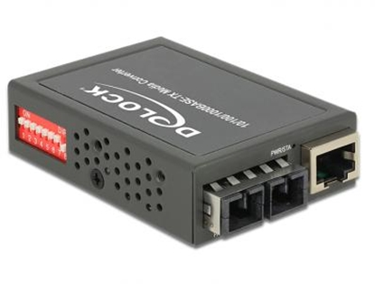Picture of Delock Media Converter 1000Base-LX SC SM 1310 nm 10 km compact