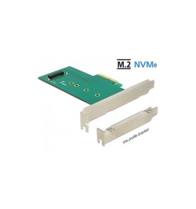 Attēls no Delock PCI Express x4 Card - 1 x internal NVMe M.2 Key M 110 mm - Low Profile