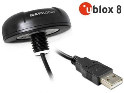 Изображение Navilock NL-8004U USB 2.0 Multi GNSS Receiver u-blox 8 4.5 m