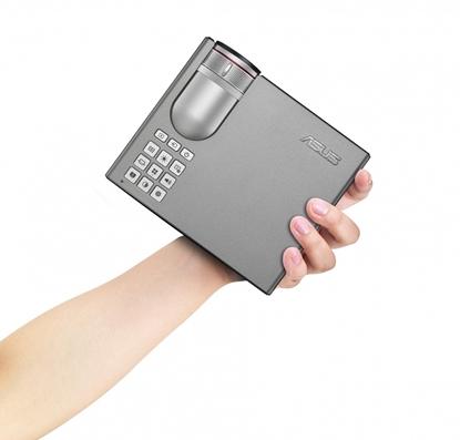 Attēls no ASUS P3E data projector 800 ANSI lumens DLP WXGA (1280x800) Portable projector Silver