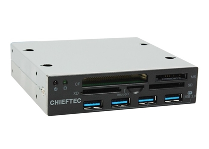 Attēls no CHIEFTEC CRD-801H Card Reader 4 x USB