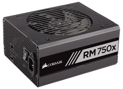 Изображение Corsair PSU 750W RMx Series RM750x, 80 PLUS Gold, modular, 135mm fan