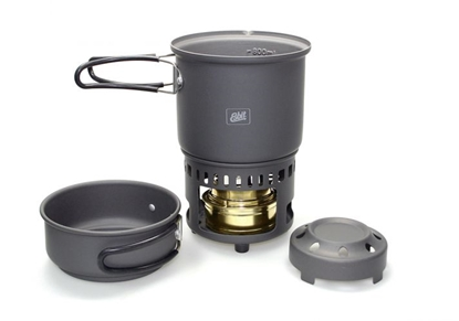 Изображение ESBIT Cookset 985 ml / Pelēka