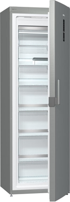 Изображение Gorenje Freezer FN6192PX Upright, Height 185 cm, Total net capacity 243 L, A++, Freezer number of shelves/baskets 6, Display, Silver, No Frost system, Free standing