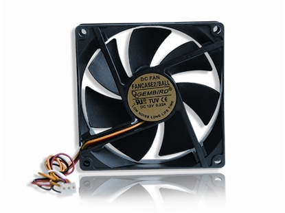 Picture of Gembird 90 mm PC case fan Ball bearing