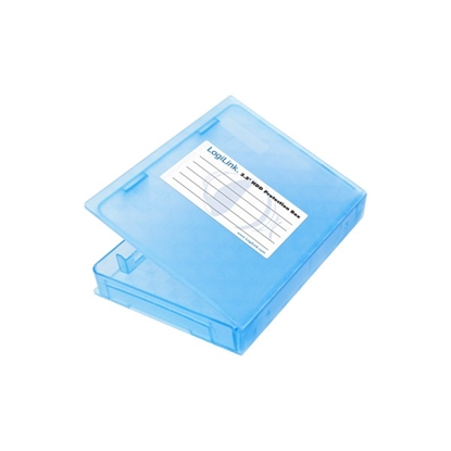 Изображение LOGILINK UA0131, 2,5 quot; HDD protection box for 1 HDD, blue
