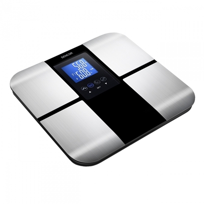 Attēls no Body fat scale SENCOR - SBS 6015 BK