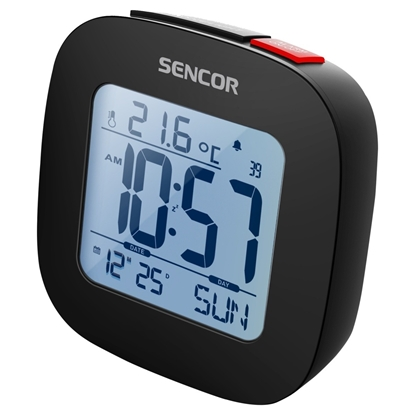 Attēls no Alarm clock with thermometer SENCOR SDC 1200 B