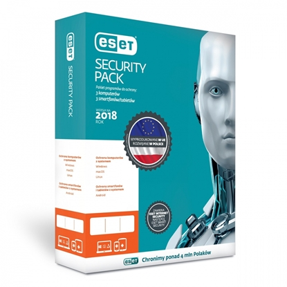 Attēls no Eset ESP-K-1Y-6D software license/upgrade 3 license(s)