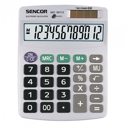 Изображение Calculator Office SENCOR SEC 367/12