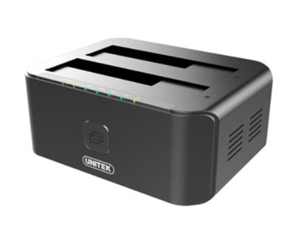 Picture of Unitek Dual HDD USB 3.0 docking station + offline clone function, Y-3032