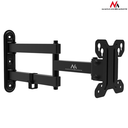 Изображение Maclean MC-740 Adjustable Wall Mounted TV bracket 30kg, max vesa 100x100