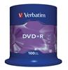 Picture of Verbatim DVD+R AZO Matt Silver 4.7 GB, 16 x, 100 Pack Spindle