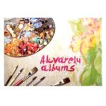 Picture of Akvareļu albums A4,  15 lapas 210g