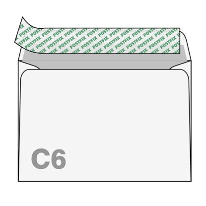 Attēls no BONG Aploksnes Postfix C6 RH, 114x162mm, (3-125142)