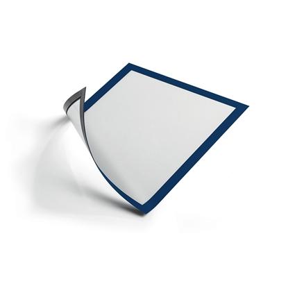 Изображение DURABLE Pašlīpoša kabata   DURAFRAME ar rāmi, blue krāsā, A4 formāts, 5 gab./iepak.