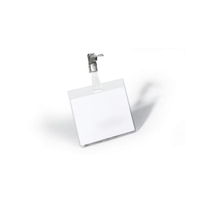 Изображение DURABLE Personas karte   ar metāla klipsi un izmēru 90x60 mm horizontāla, 25 gab./iepak.