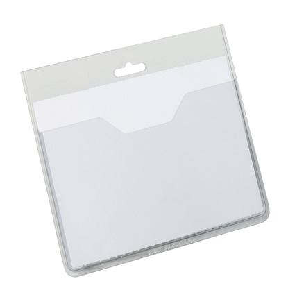 Изображение DURABLE Personas karte   bez klipša, izmērs  60x90mm, 20 gab./iepak.